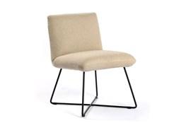 Armless Oatmeal Dining Chair