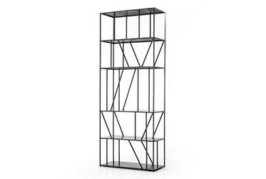 Gunmetal Architectural Bookcase