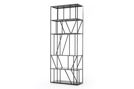 Gunmetal Architectural Bookcase - Main