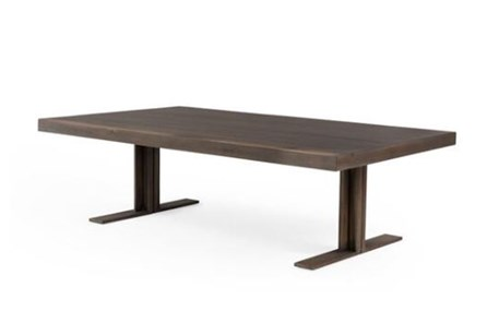 Dark Highlighted Acacia Coffee Table