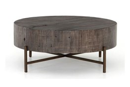 Distressed Grey Coffee Table