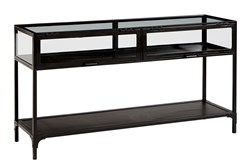 Magnolia Home Metal And Glass Console Table By Joanna Gaines