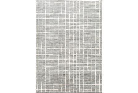 63X87 Promo Rug-Squares Grey