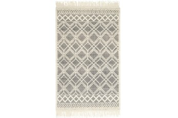 "5'x7'5"" Rug-Magnolia Home Holloway Black/Ivory By Joanna Gaines"
