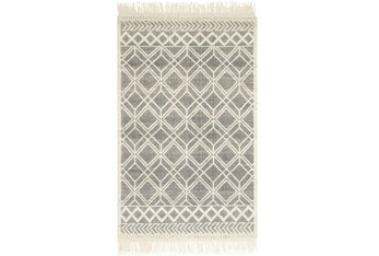 """5'x7'5"""" Rug-Magnolia Home Holloway Black/Ivory By Joanna Gaines"""