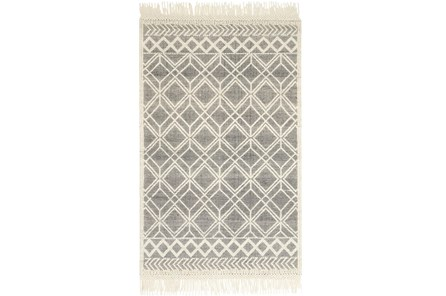 60X90 Rug-Magnolia Home Holloway Black/Ivory By Joanna Gaines - Main