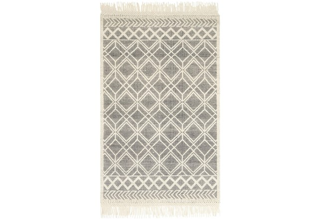 60X90 Rug-Magnolia Home Holloway Black/Ivory By Joanna Gaines - 360