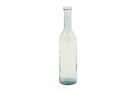 30 Inch Clear Glass Bottle