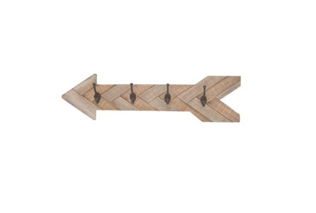 Youth-Wood Arrow Wall Hooks