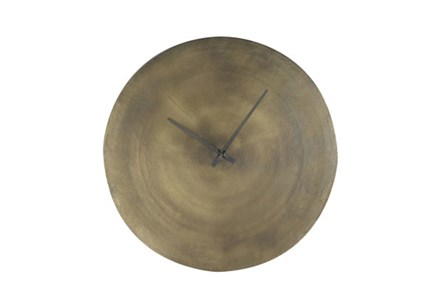 Large Brass Wall Clock