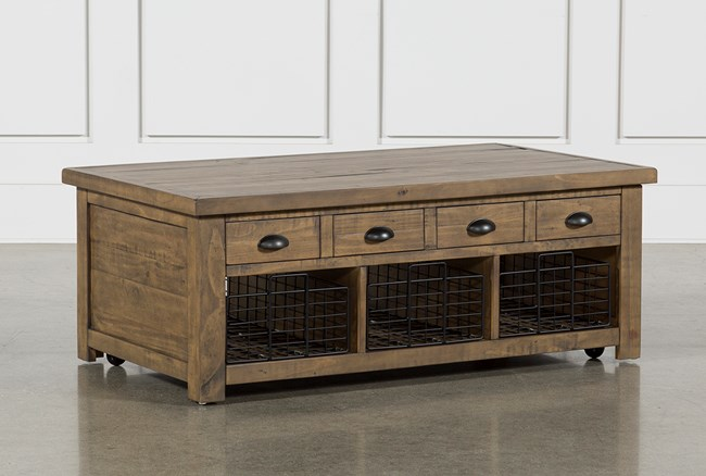 Seneca Lift-Top Coffee Table - 360