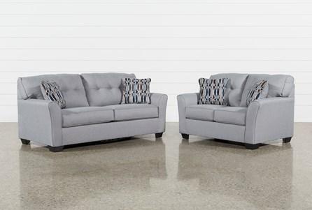 Chilkoot Smoke 2 Piece Living Room Set