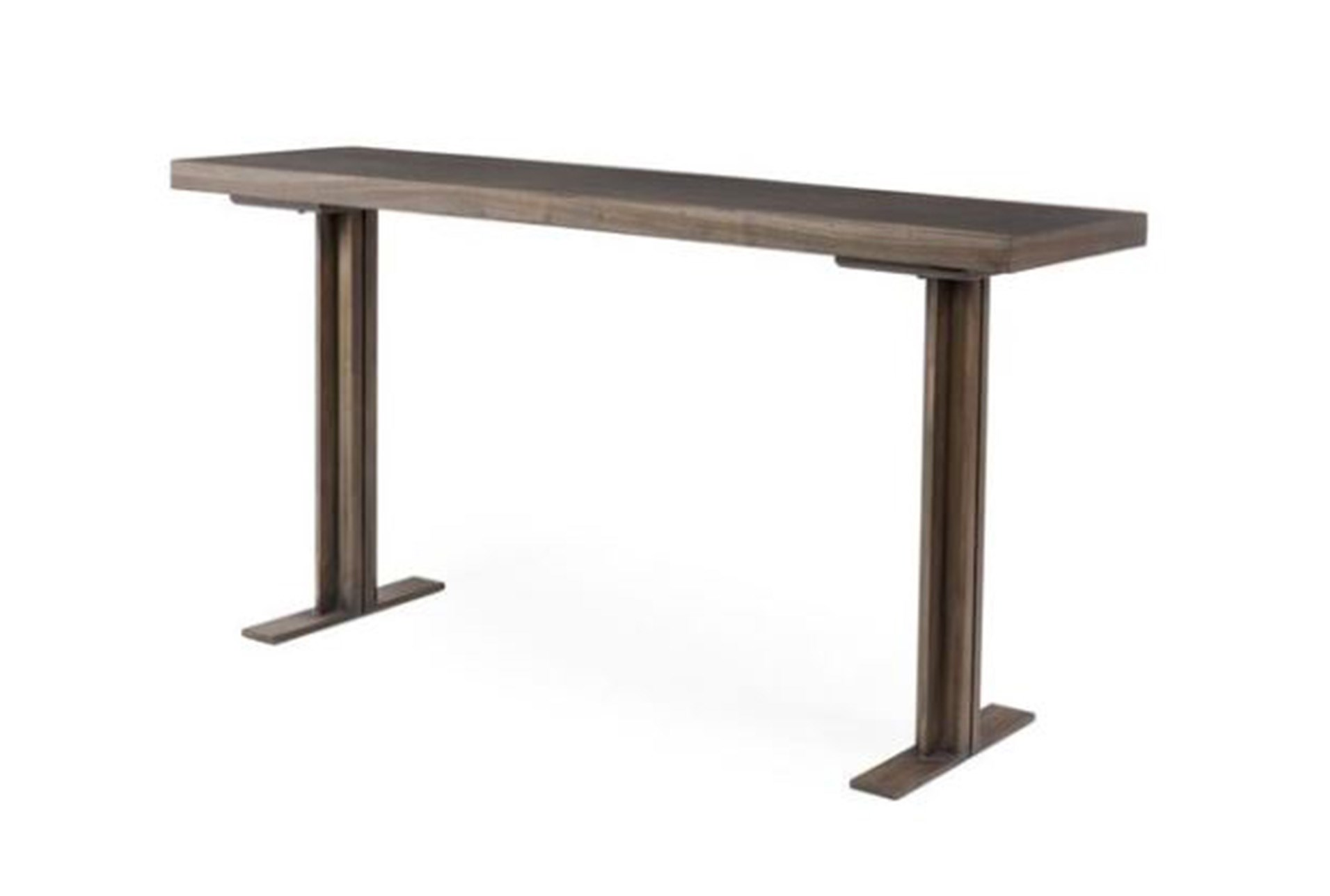 Dark Highlighted Acacia Console Table Qty 1 Has Been Successfully Added To Your Cart