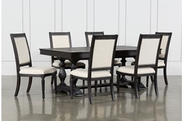 Chapleau II 7 Piece Extension Dining Table With Side Chairs