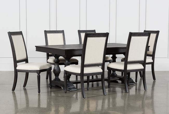 Chapleau II 7 Piece Extension Dining Table With Side Chairs - 360