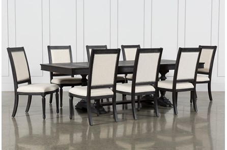 Chapleau II 9 Piece Extension Dining Table With Side Chairs - Main