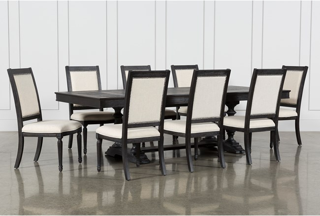 Chapleau II 9 Piece Extension Dining Table With Side Chairs - 360