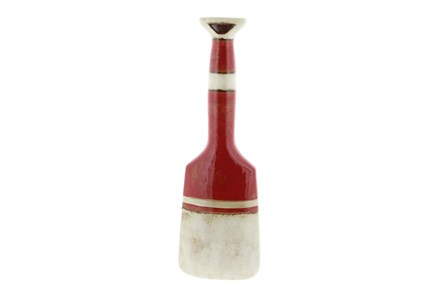 18 Inch Red Color Block Vase