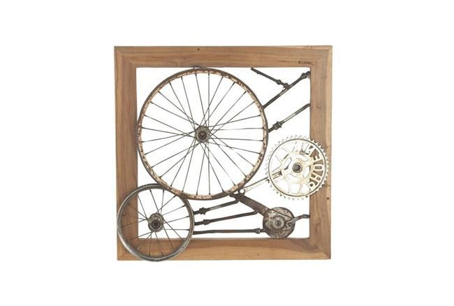 Bicycle Spokes Wall Decor - 360