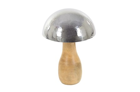 Youth-11 Inch Wood And Steel Mushroom