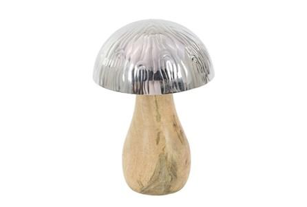 Youth-8 Inch Wood And Steel Mushroom