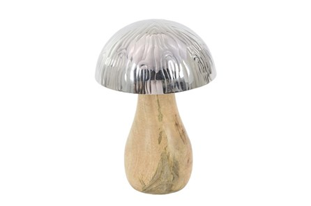Youth-8 Inch Wood And Steel Mushroom