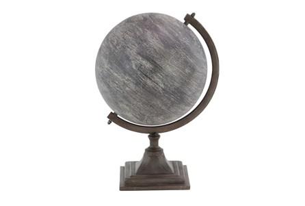 Grey Metal Globe