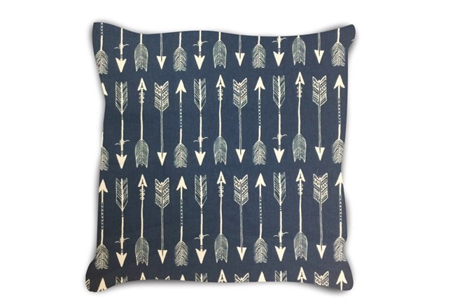Accent Pillow-Youth Wilderness Arrows Blue 18X18 - 360