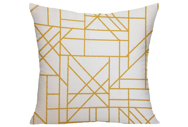 Accent Pillow-Youth Sports Lines Orange 18X18 - 360