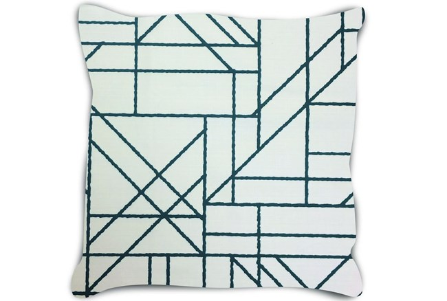 Accent Pillow-Youth Sports Lines Navy 18X18 - 360