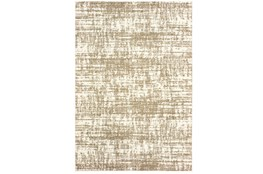 79X114 Rug-Distressed Soft Shag Ivory/Taupe