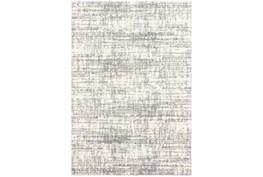 63X90 Rug-Distressed Soft Shag Ivory/Grey