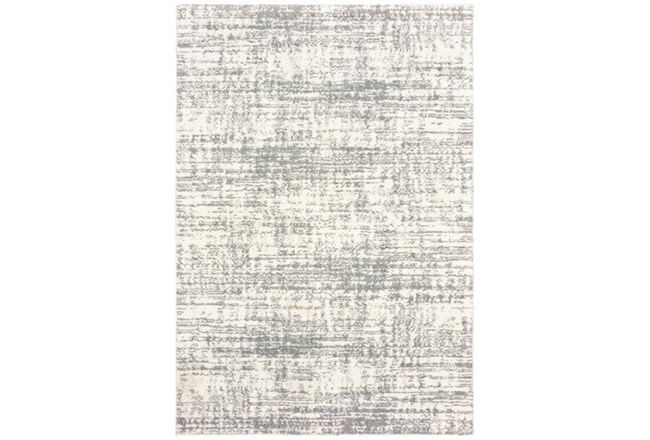 79X114 Rug-Distressed Soft Shag Ivory/Grey - 360