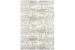 118X154 Rug-Distressed Soft Shag Ivory/Grey