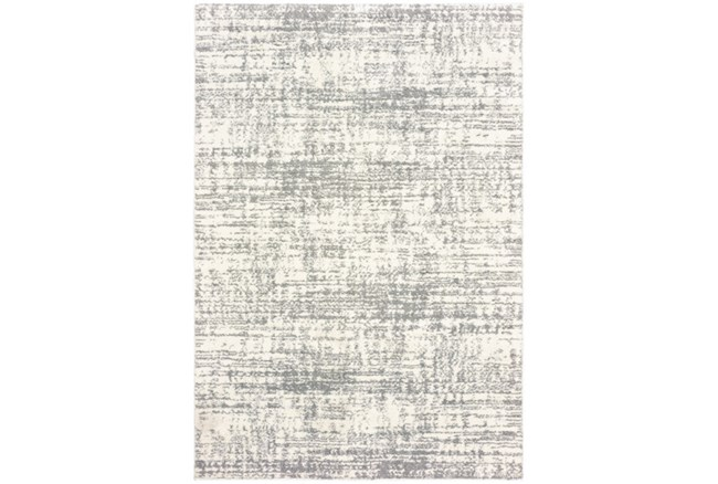 118X154 Rug-Distressed Soft Shag Ivory/Grey - 360
