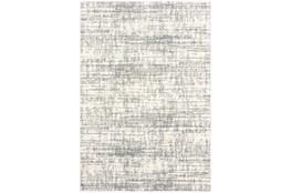 24X36 Rug-Distressed Soft Shag Ivory/Grey