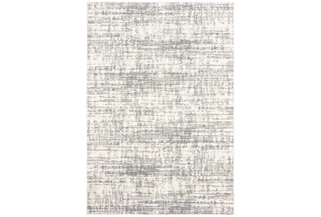 24X36 Rug-Distressed Soft Shag Ivory/Grey - 360