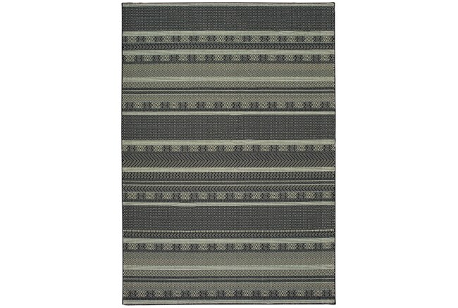 118X154 Rug-Grey/Navy Stripes - 360