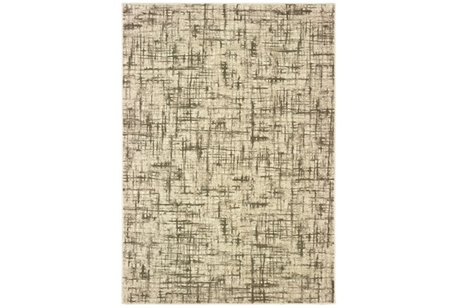 27X90 Rug-Distressed Modern Ivory/Brown - 360