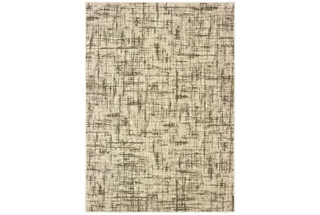 118X154 Rug-Distressed Modern Ivory/Brown - 360