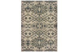 118X154 Rug-Lodge Grey/Ivory
