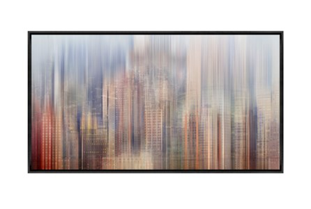 Picture-43X24 City Rise Canvas Print