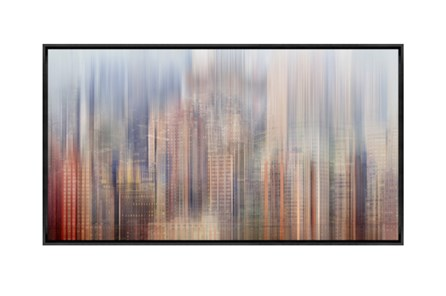 Picture-43X24 City Rise Canvas Print - Main