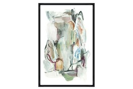 Picture-30X45 Rock Climbing Glass Framed