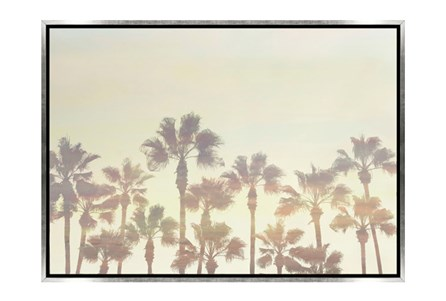 Picture-34X24 Palm Tree Paradise Canvas Print