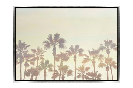 Picture-34X24 Palm Tree Paradise Canvas Print - Main