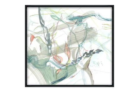 Picture-32X30 Washed I Glass Framed
