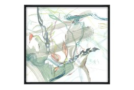 Picture-32X30 Washed II Glass Framed