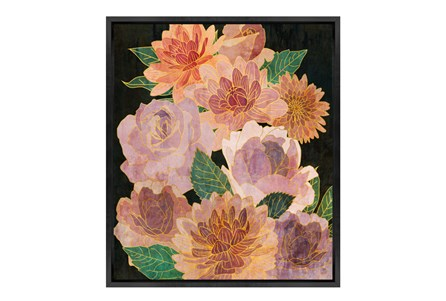 Picture-30X35 Bloom And Bloom Glass Framed