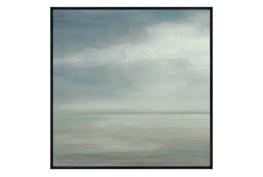 Picture-36X36 Seaside I Glass Framed